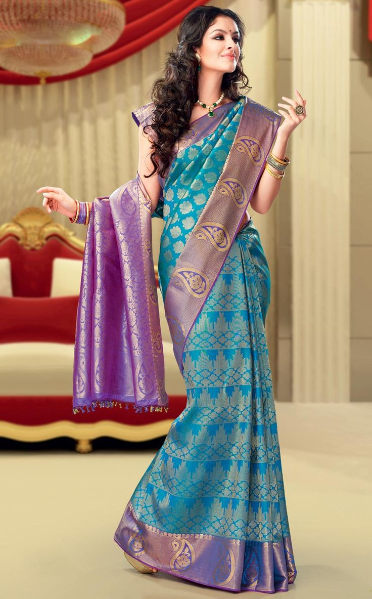 Shop Textile India Fashion Vogue Sahana Soft Silk Brocade #DesignerSaree online at lowest price in USA and purchase various collections of Designer sarees in Textile India Fashion Vogue brand at grabmore.com the best #onlineshopping store in USA.