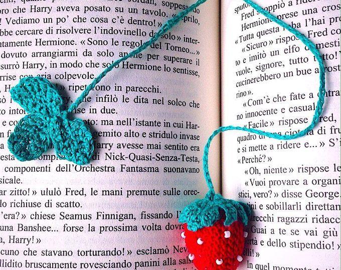 Marcar con crochet fresa