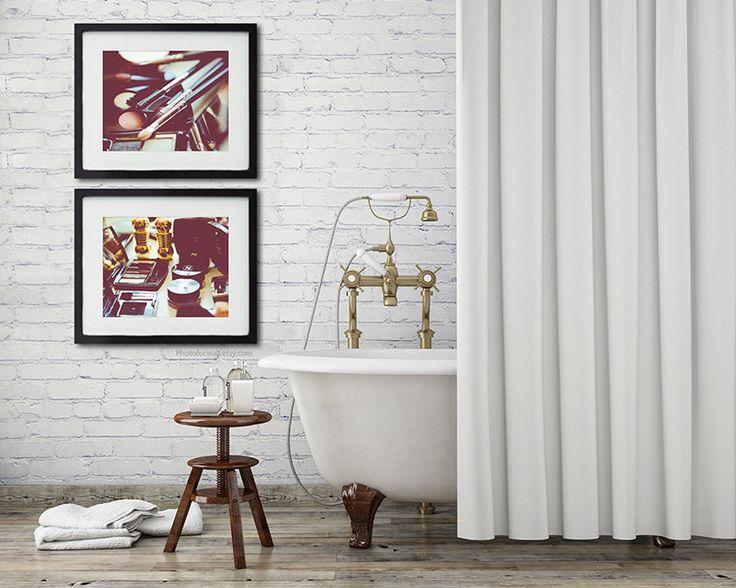 Chanel/bathroom Wall Decor/Set Of 2 Prints/Boho Wall Decor/Chanel Bathroom  Set/bathroom Art/gift For Her/birthday Gift/gifts For Women