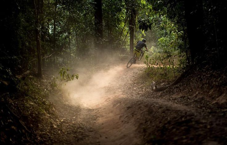 "Drift Bikes on Instagram: ""This is what it looks like when you forget about your daily stresses, and leave it all behind you. When in doubt, go riding. #destinationtrail #ridecairns #popwheelies #driftbikes #stumpjumper #caterpillars #ambush  @romanpace"""