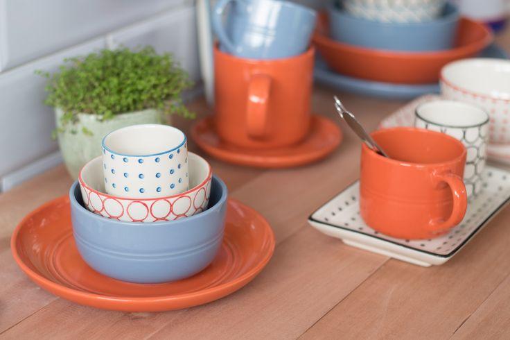 Conoce los diferentes diseños de loza que tenemos para tu mesa en www.casaideas.com