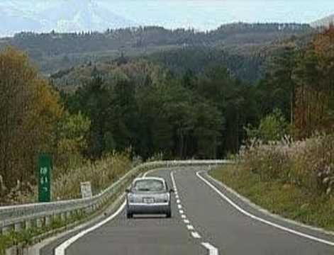 Japan has invested in a series of melody roads that sing out a tune as you drive over them, as part of a new tourist attraction.