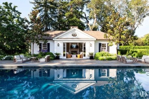 If I had a pool house.....REDD RESTRAINT | Mark D. Sikes: Chic People, Glamorous Places, Stylish Things