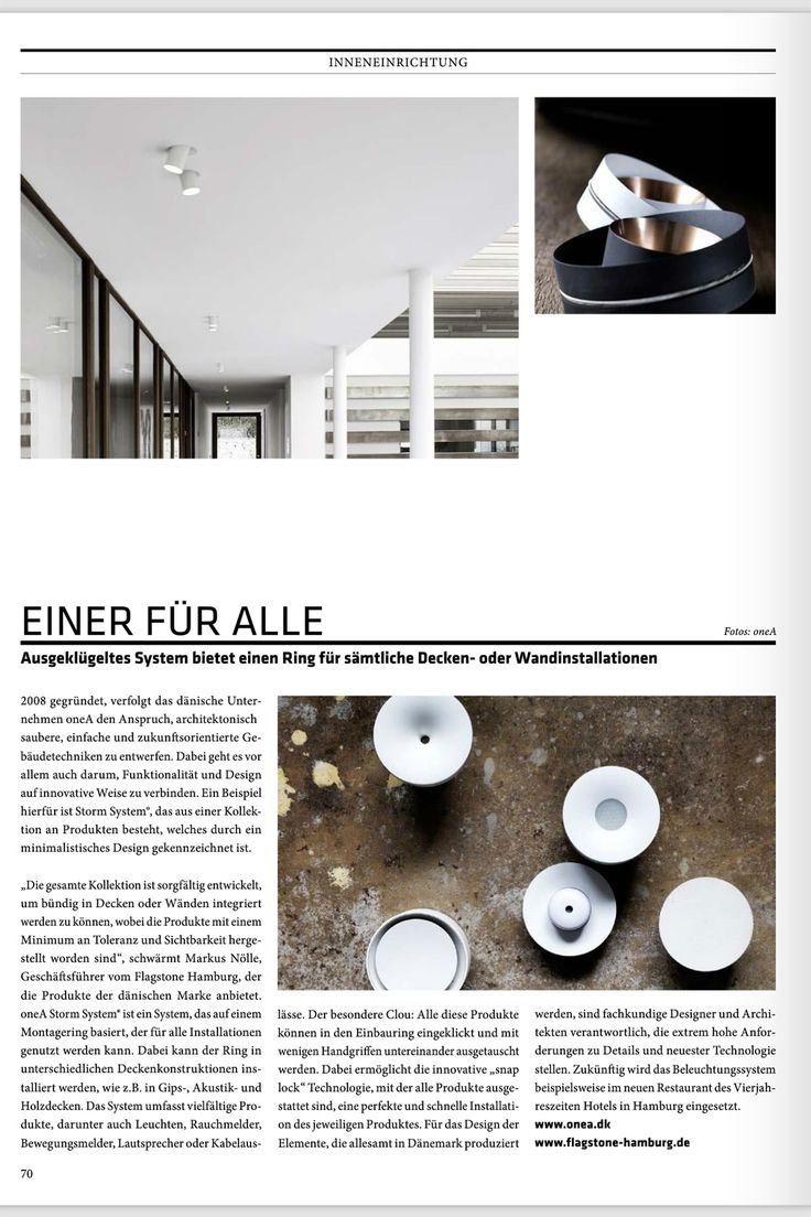 Check out this month's edition of the CUBE Hamburg 03|16 magazine, where you will find a great article about STORM SYSTEM®. Read more about the STORM SYSTEM® at https://lnkd.in/dTmR-Ty
