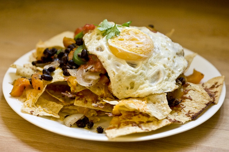 Breakfast Nachos | I Can Eat That | Pinterest