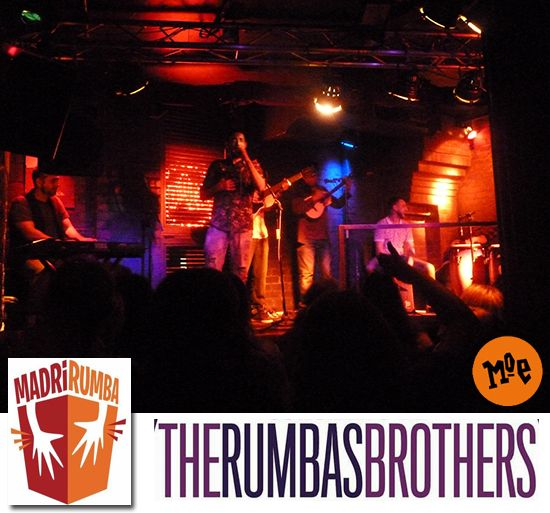 The Rumbas Brothers en el MadríRumba 2016.