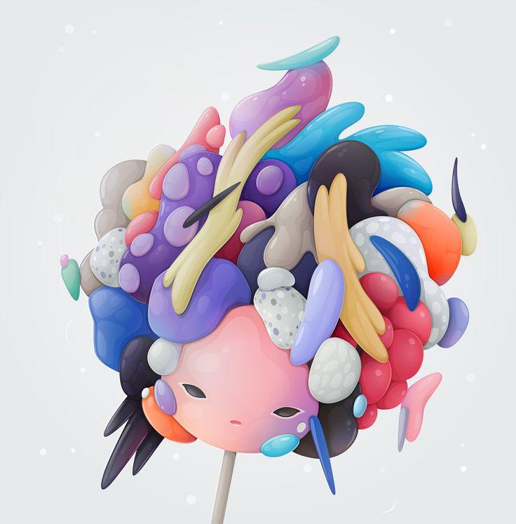 princess bubblegum on Behance
