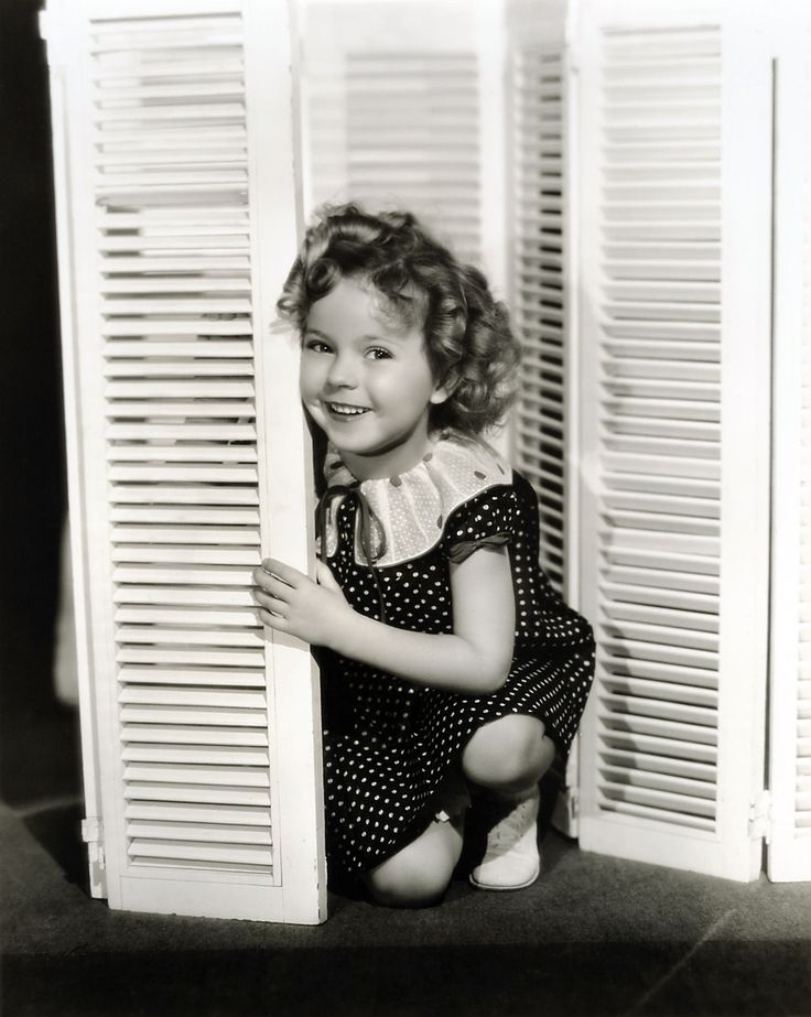 Shirley Temple....Best child actress ever!  I grew up watching all of her movies! She inspired me to sing and act and dance!  :)