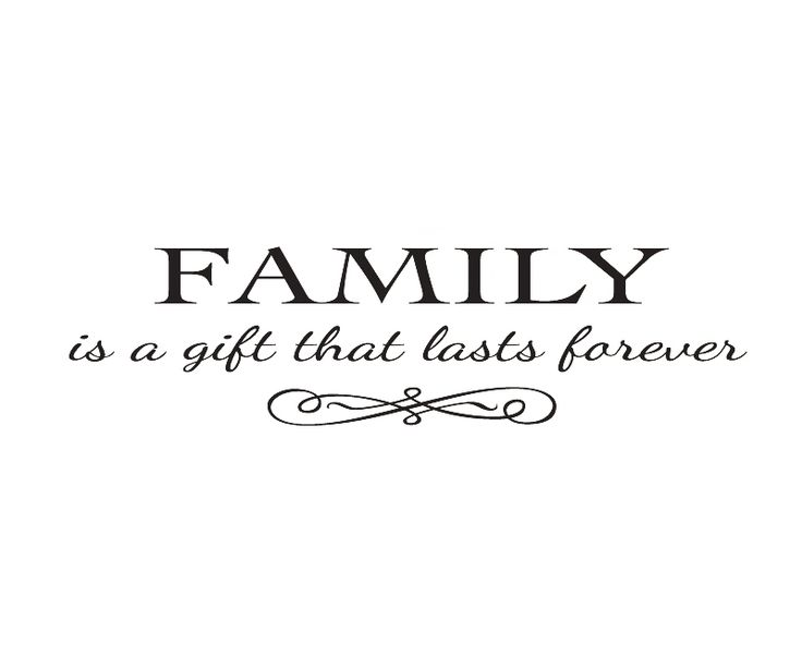 Wall Decal font b Quote b font Sticker Vinyl Art Lettering Removable Family is a font Quotes About Family Love
