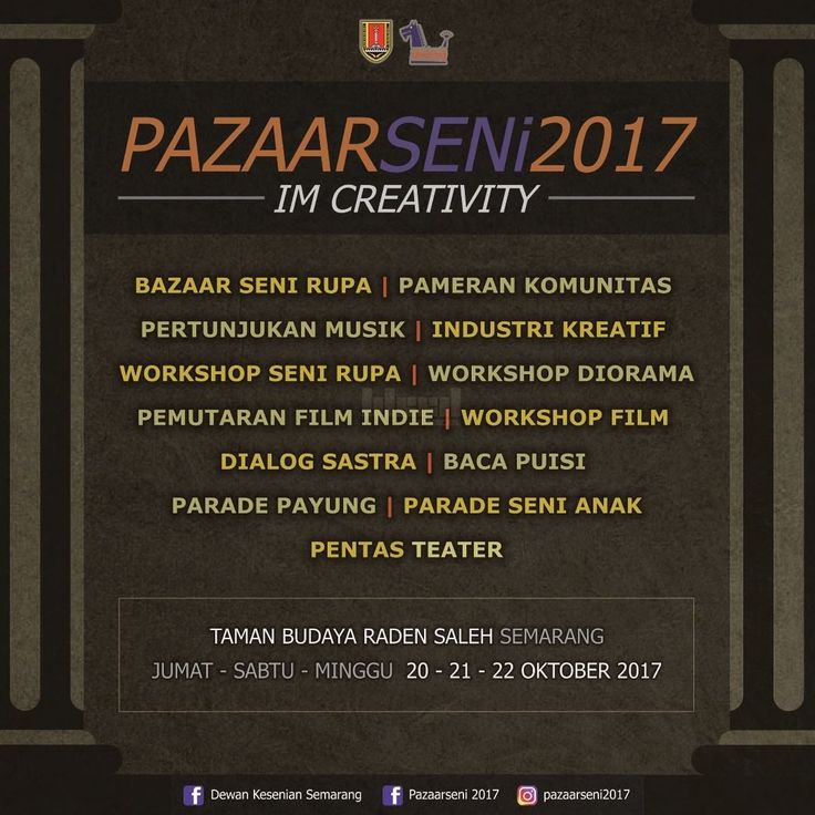 """Flyer design for """"Pazaar Seni 2017"""". And all about event publication designs are designed by @bleedsyndicate  Please check @pazaarseni2017 • #pazaarseni2017 #publicationdesign #publicdesign #design #graphicdesign #desain #desaingrafis #semarang #bleedsyndicate #bleedsyndicate2017 • © 2017 @bleedsyndicate"""