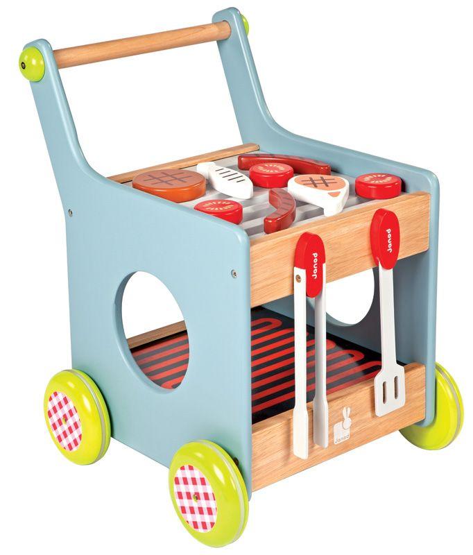 Wooden Barbeque Trolley #limetreekids