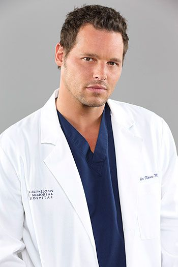 "JUSTIN CHAMBERS-    Dr. Alex Karev on ABC's ""Grey's Anatomy"" Justin Chambers was born and raised in Springfield, Ohio. Discovered on a subway ..."