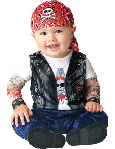 Infant Boy Halloween Costume: Baby Biker Costume (6-12 months with Bracelet for Mom) In Fashion Kids http://www.amazon.com/dp/B00EPG0B9U/ref=cm_sw_r_pi_dp_9bytub16WPKDZ