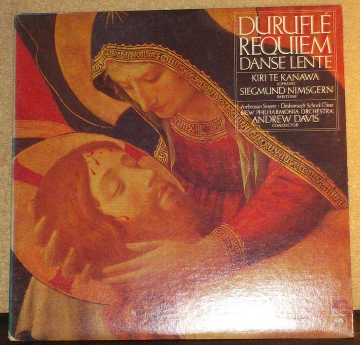 Durufle Requiem Danse Lente Kiri Te Kanawa Andrew Davis Vinyl Quad Classical…