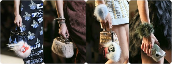 Faux fur fashion spring/summer 2015 - Fendi
