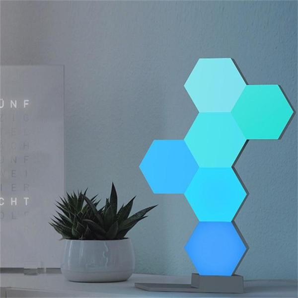 Smart Hexagon Led Light Led Night Light Led Lights Smart Lighting