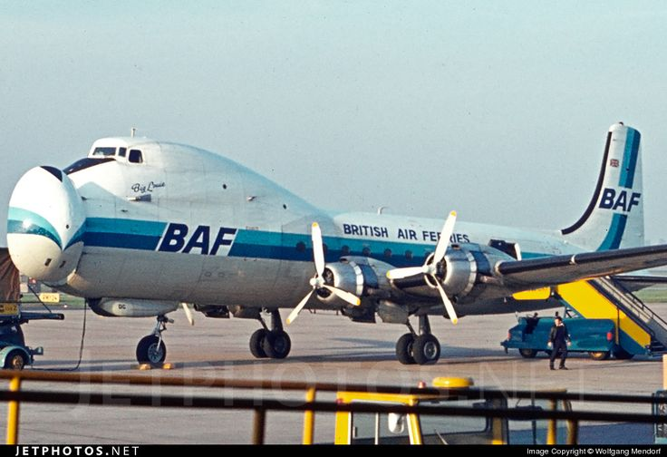 Photo of G-ASDC - ATL.98 Carvair - British Air Ferries (BAF)
