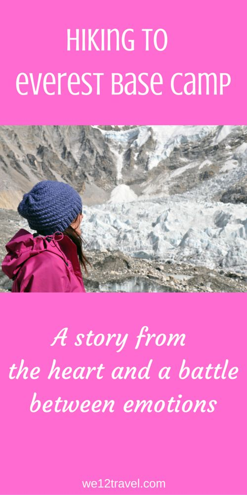 """""""Big Girls Don't Cry"""" is what they say - I recently hiked to Mount Everest Base Camp in Nepal and this 15 day journey resulted in a battle between emotions and one of my biggest adventures so far..."""