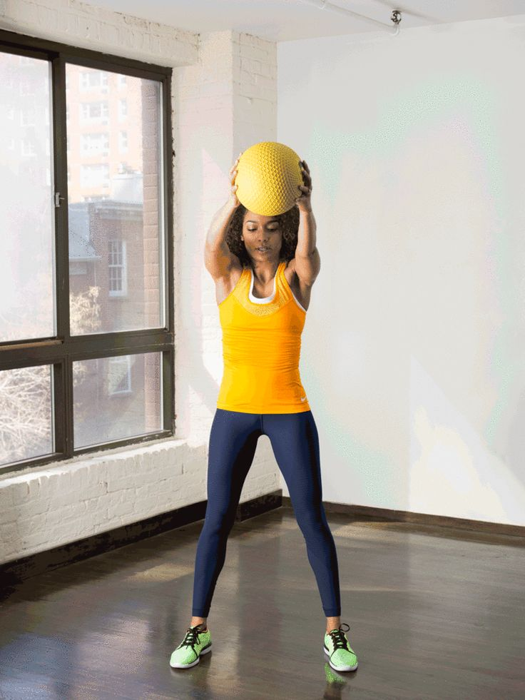 13. Overhead Circles #standing #abs #workout http://greatist.com/move/abs-workout-best-abs-exercises-you-can-do-standing-up