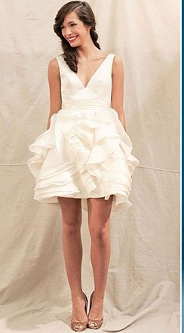 What to wear to a wedding? If there is a dress code on the White Short Dress For Wedding card is listed, your guests know what is expected from them. Convenient, because if no one shows up under- or overdressed. We have different dress codes put in a row!