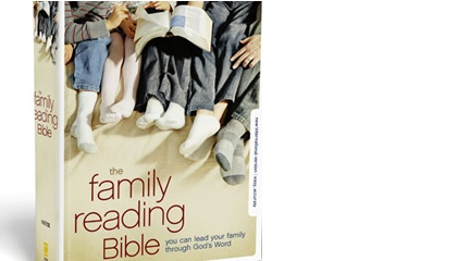 Family Reading Bible -- Read through the Bible as a family.  Short path for younger children, long path for older.  A friend of mine is reading through it for the 2nd time, they loved it so much the first time! #familybible #bible