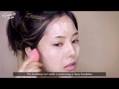 Makeup Tutorial Korean: 워터프루프 브론즈 메이크업 - YouTube