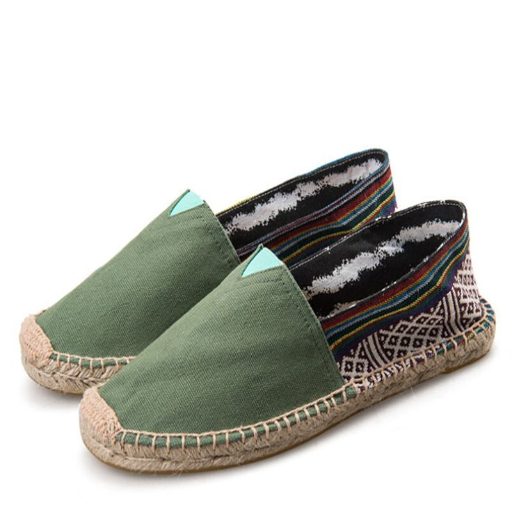 2016 NEW!23 colors! Fashion Women canvas espadrilles size 35-45 women's Flats casual Unisex lover shoes Free shipping