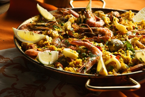 Paella | Food and Recipe | Pinterest