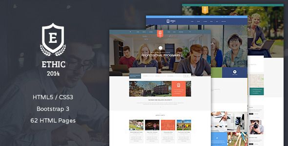 ETHIC - Education, Event and Course Template