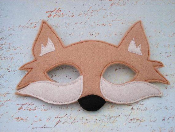 Fox Mask by herflyinghorses on Etsy, $14.50