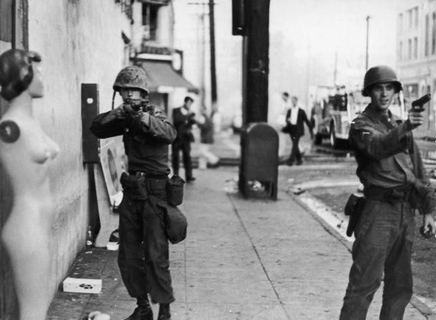 50 Years Later, These 8 Photos Of The Watts Riots Speak Volumes
