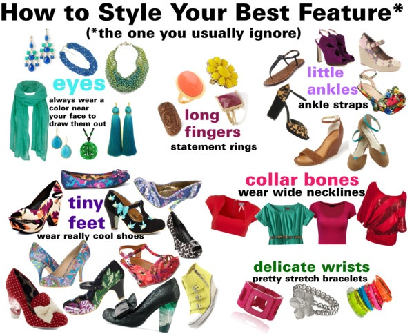 """""""How to Style Your Best Feature (the one you usually ignore)"""" by dana-peterson-forlano on Polyvore"""