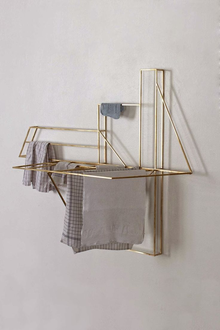 I want to hang my laundry on this | Foldwork by Studio Berg