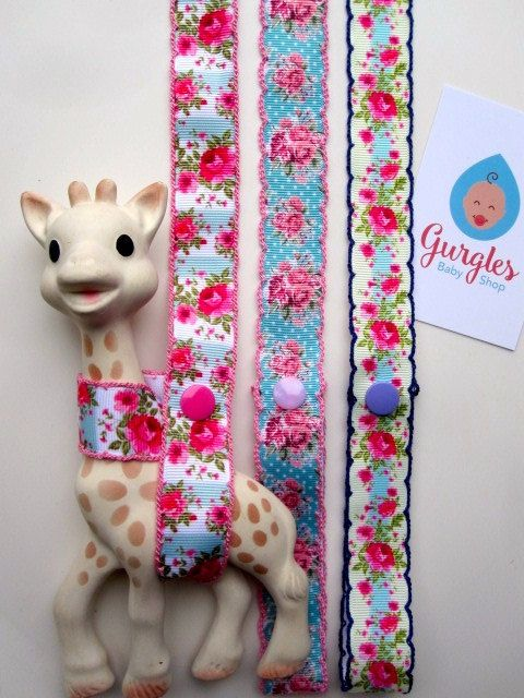 Sophie the giraffe harness By Gurgles baby shop