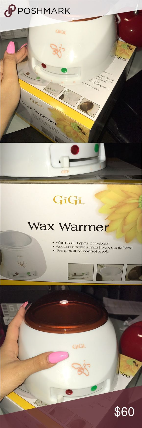 Gigi Wax warmer Brand new Professional wax warmer, works perdectly, and comes with all accesories, wax, sticks, cleanser and skin lotion! Other