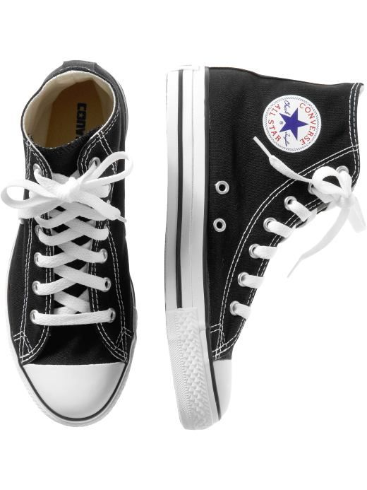 converse shoes high tops boys. kids clothing boys converse all star hi top shoes socks gap - stylehive high tops k