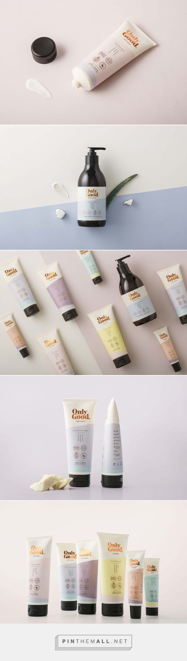 Only Good Skin Care Packaging by Milk NZ Limited | Fivestar Branding Agency – Design and Branding Agency & Curated Inspiration Gallery