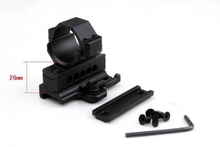 Rifle Tactical mount ring 30 mm Quick realise riser Blocks QS 001 MX 0100