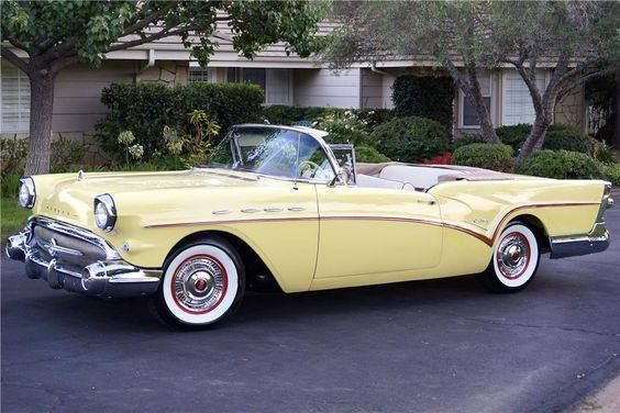 Buick Century Convertible 1957. Maintenance/restoration of old/vintage vehicles: the material for new cogs/casters/gears/pads could be cast polyamide which I (Cast polyamide) can produce. My contact: tatjana.alic@windowslive.com