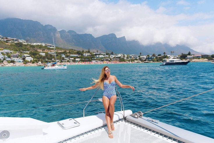 Cruise to Clifton on the Mirage 760 Luxury Catamaran!  #CapeTown