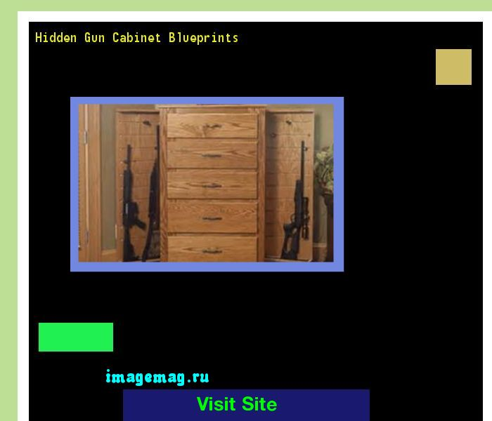 Hidden Gun Cabinet Blueprints 134623 - The Best Image Search