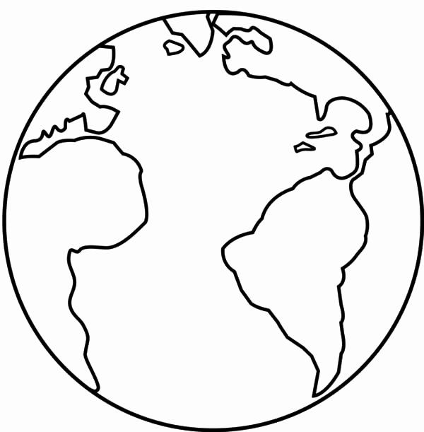 Planet Earth Coloring Page New 46 Planet Earth Printable Coloring Pages Free Printable In 2020 Earth Coloring Pages Planet Coloring Pages Space Coloring Pages