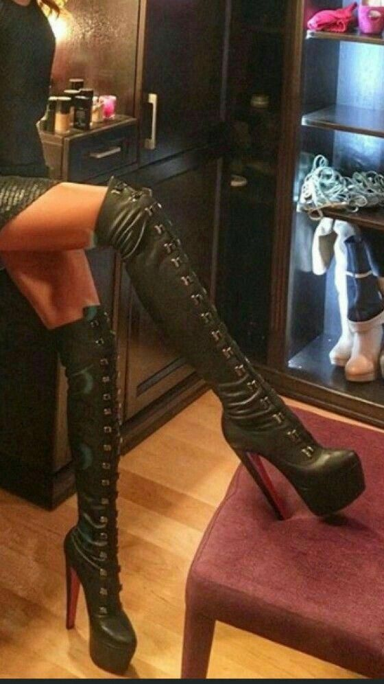 f01f680c09a3 Bad girl Boots. 😊  highheelboots