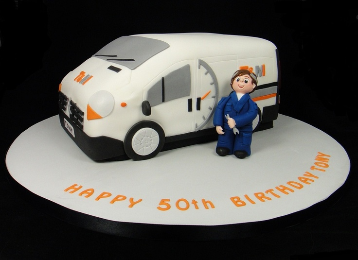 how to make a bus birthday cake
