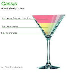 Recette Cocktail CASSIS
