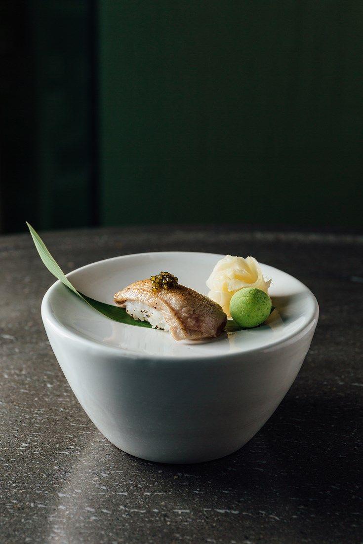 Chūtoro nigiri – medium fatty tuna nigiri