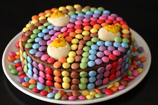 40 beste afbeeldingen over Taart op Pinterest - Taarten ... Smarties Glutenvrij