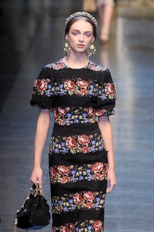 Dolce & Gabbana A/W '12 Modern reinterpretation of Chiapas ...