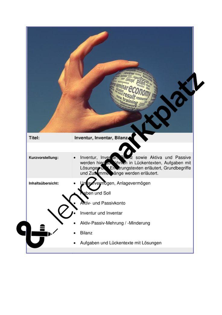 18 best Wirtschaftslehre images on Pinterest | Teaching resources ...