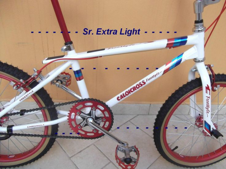 Adesivos Caloi Cross Freestyle Light Extra Light Perfeitos